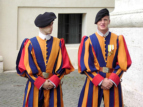 vatican-guards