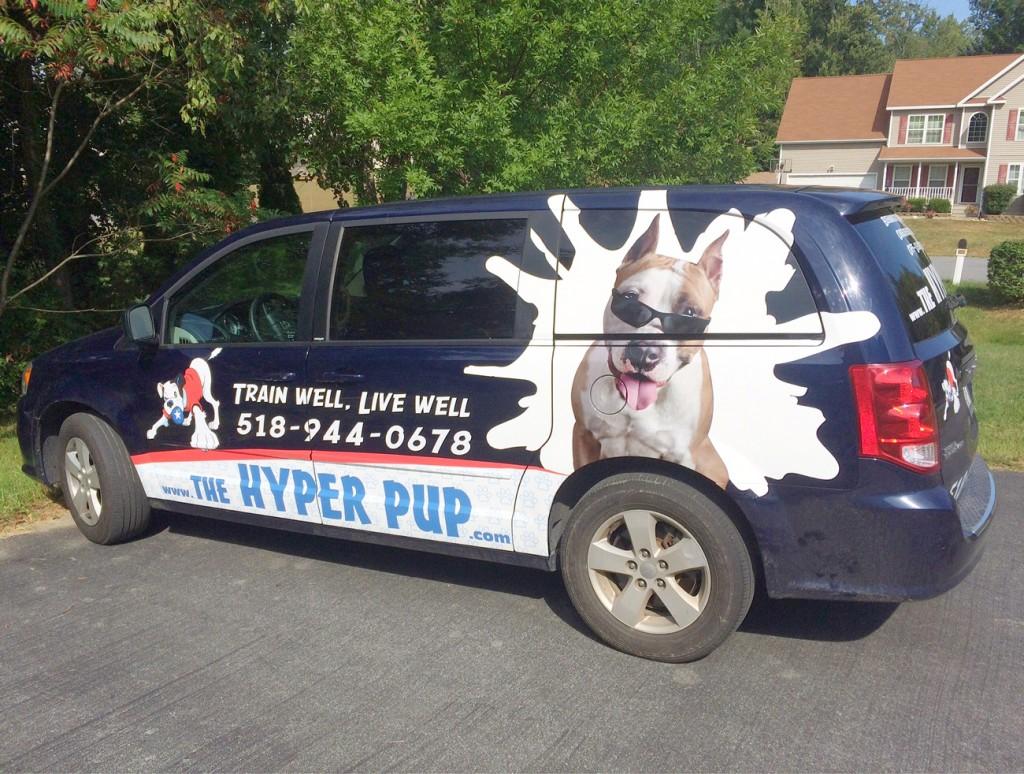 Dog Training Van
