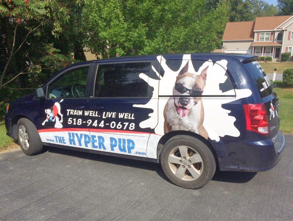 The Hyper Pup vehicle